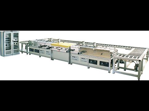 电子元器件磁控溅射生产线